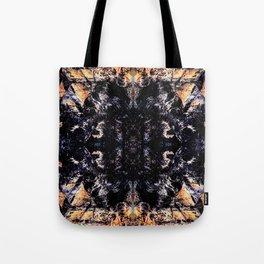 Flame kaleidoscope Tote Bag