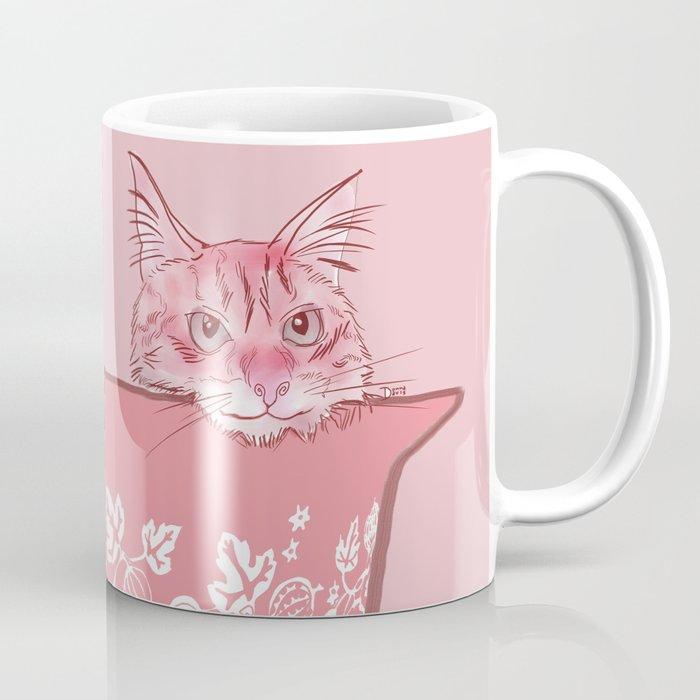 Cat in Bowl #1 Coffee Mug