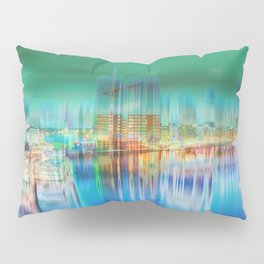 Amsterdam Habor by night Pillow Sham