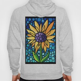 Standing Tall - Sunflower Art By Sharon Cummings Hoody