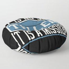 Teller  - It Is No Job, It Is A Mission Floor Pillow
