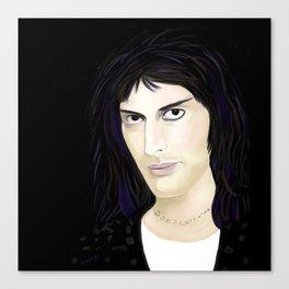 FreddieMercury A Bohemian Rhapsody Canvas Print