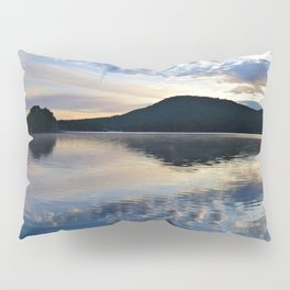 Rippling Reflections: September Sunrise on Lake George Pillow Sham