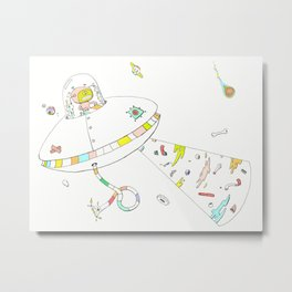 I Don't Want to Believe Metal Print