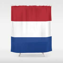 Flag: Netherland Shower Curtain