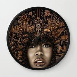 ERYKAH BADU--ART Wall Clock