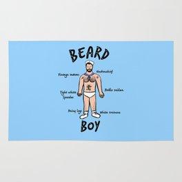 Beard Boy: Sailor Style Rug