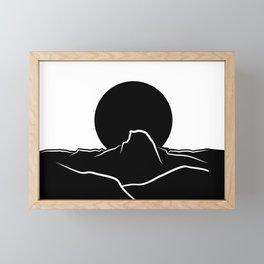 Half Dome Framed Mini Art Print