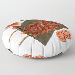 pork bbq Floor Pillow