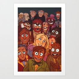 The Muppets Art Print