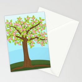 Tree Bloom Stationery Cards