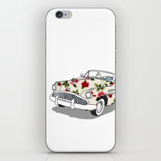 Blossom car iPhone & iPod Skin