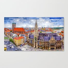 Munich Cityscape Canvas Print