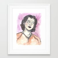 oitnb Framed Art Prints featuring Morello OITNB by Ashley Rowe