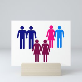 LGBT Couples Mini Art Print