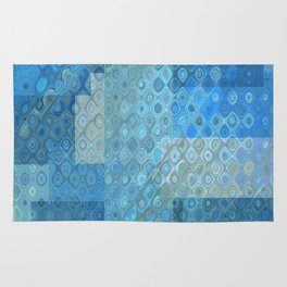 Abstract Textures Rug