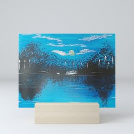 Blue Lake Mini Art Print
