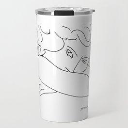 Young Woman With Face Buried In Arms (jeune Femme Le Visage Enfoui Dans Les Bras), Henri Matisse, Ar Travel Mug