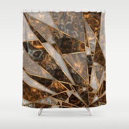 Shards 1 Shower Curtain