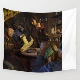 Pirate Cavern Wall Tapestry
