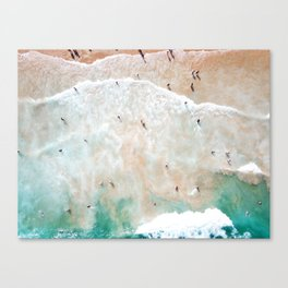 Bondi Beach Shore Canvas Print