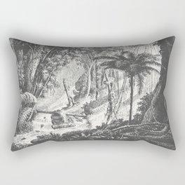 Brazilian Jungle Rectangular Pillow