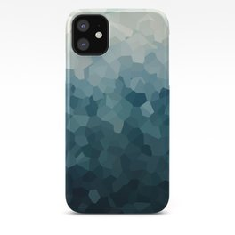 Ice Blue Mountains Moon Love iPhone Case