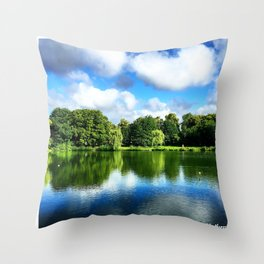 Clear & Blurry  Throw Pillow