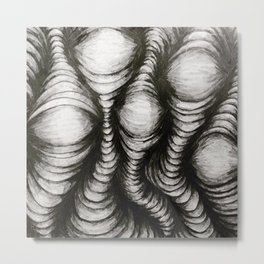 Waves of Value Metal Print