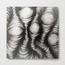 Waves of Value Metal Print