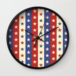 Star Pattern Wall Clock