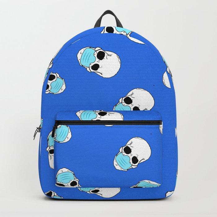 Skulls With Surgical Masks Backpack/knapsack by B0rwear - STANDARD