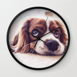 Bobby Dog Wall Clock