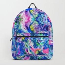 Bathbomb, psychedelic, trip, mushrooms, acid, lsd Backpack