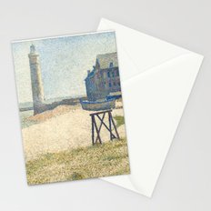 Georges Seurat, The Lighthouse at Honfleur, 1886 Stationery Cards