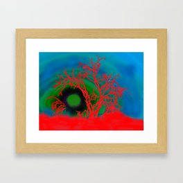 Desert Rising Framed Art Print