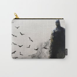 The Bat Watercolour Carry-All Pouch
