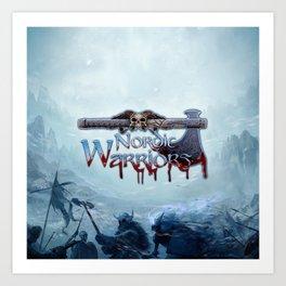 Nordic Warriors Official Logo Art Print