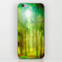 fairy tale iPhone & iPod Skins featuring Fairy tale by Armine Nersisian
