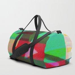 Bottle Glitch Duffle Bag