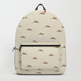 Calico Dolphin Backpack