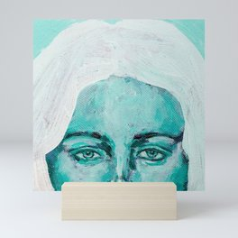 Mint Girl Mini Art Print