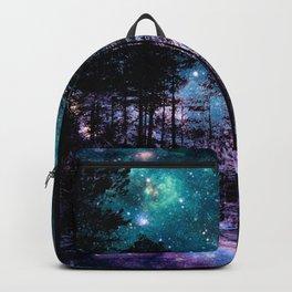 One Magical Night... teal & purple Backpack