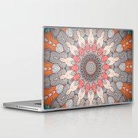 mandala Laptop & iPad Skins featuring manDala by Monika Strigel