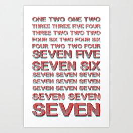Monica teaches Chandler 7 erogenous zones in F.R.I.E.N.D.S. Art Print