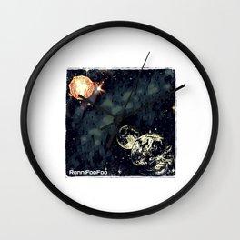 Total Solar Foo'clipse Wall Clock