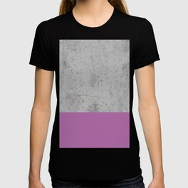 Cement and Purple T-shirt