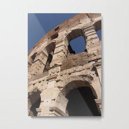 Colosseum - Amphitheatrum Flavium - Rome Metal Print