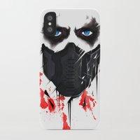 bucky iPhone & iPod Cases featuring Bucky Barnes by akaori_art