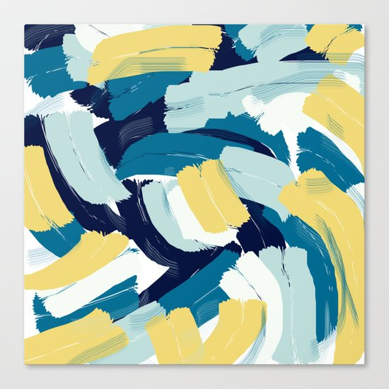Abstract painting 111 Canvas Print